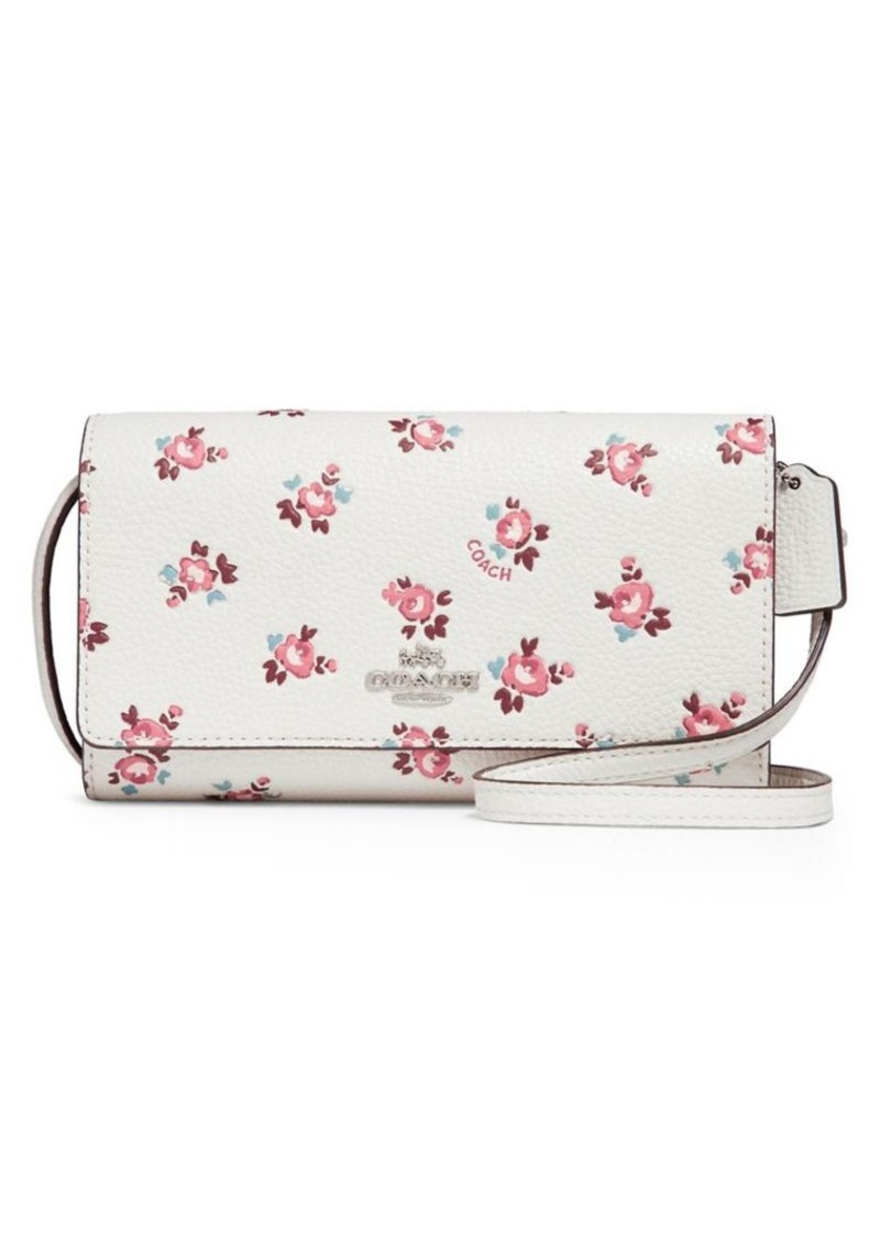 elegant in style diversified in packaging outlet store sale Floral Bloom Cell Phone Crossbody Bag