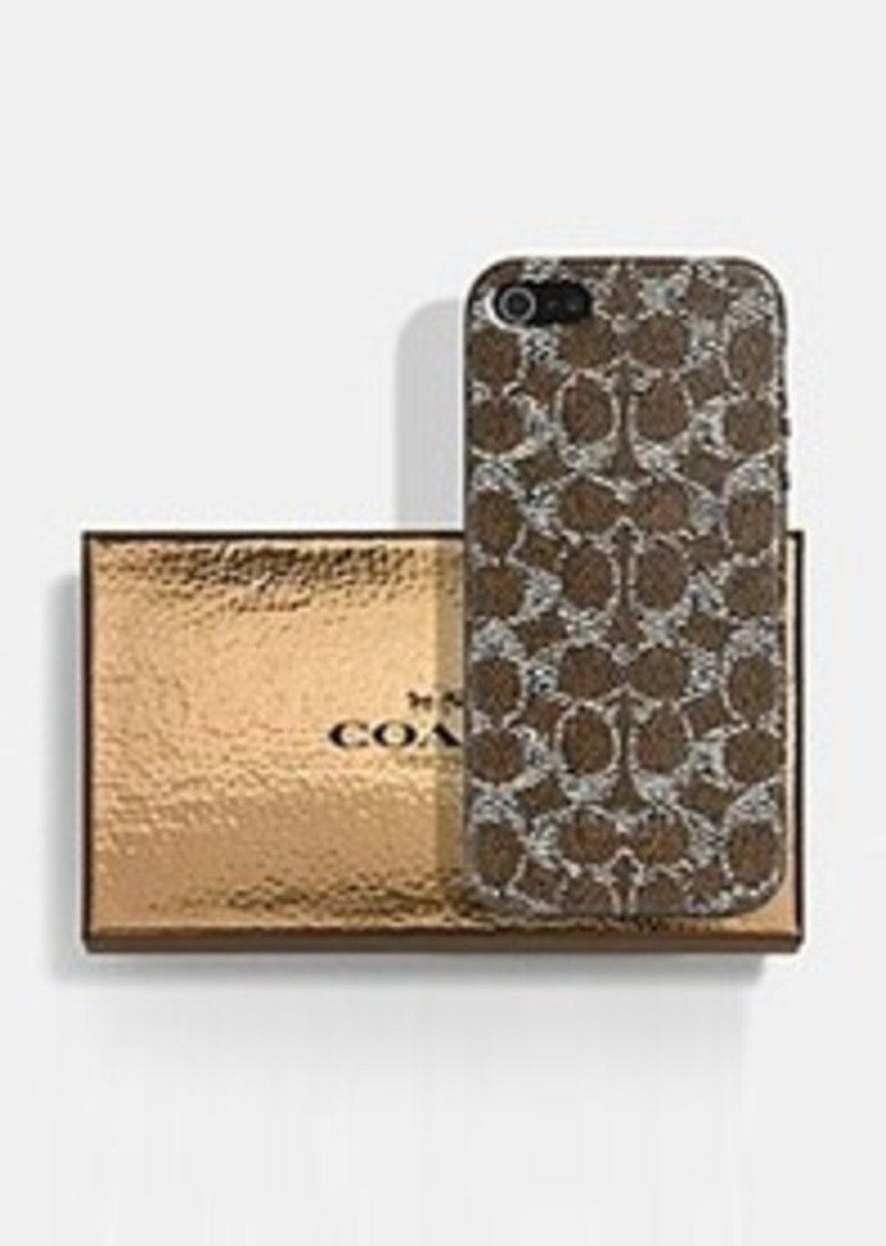 Coach Mens Iphone Case