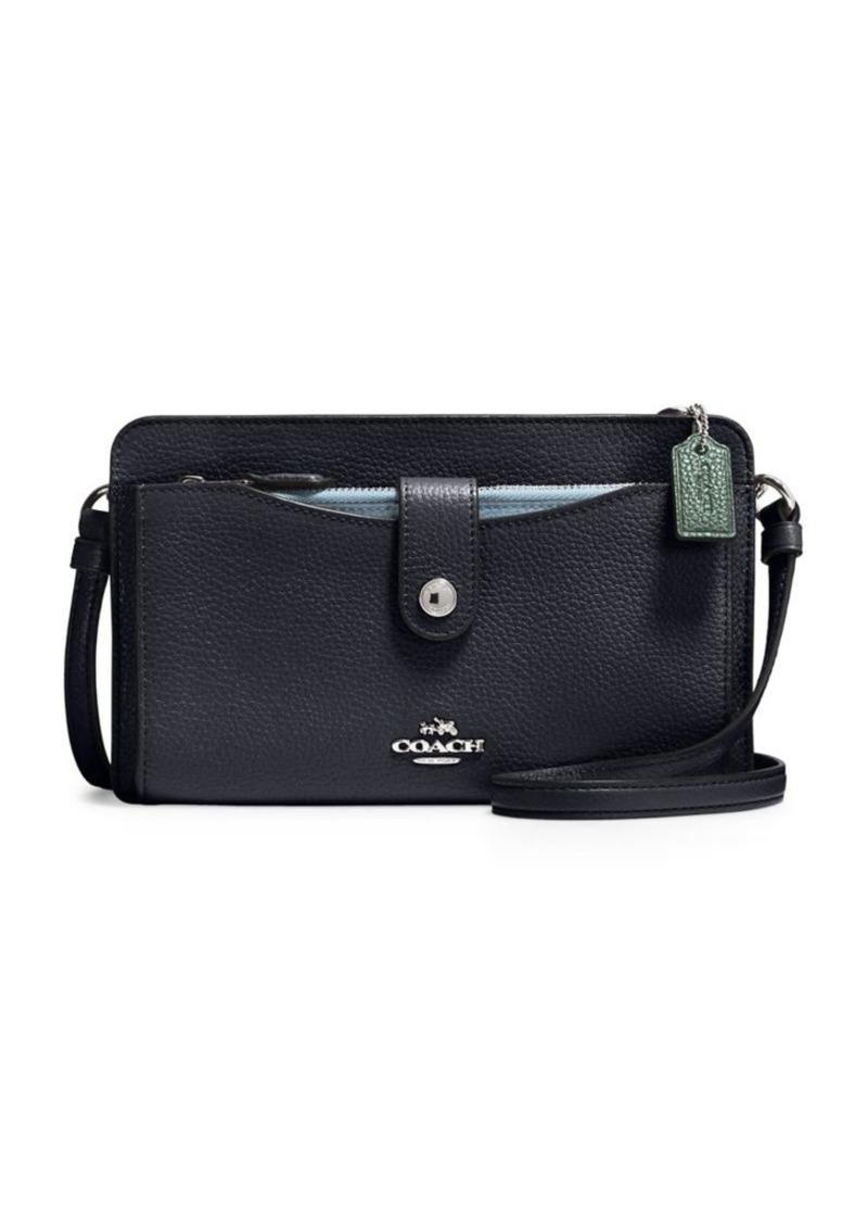 Coach Leather Crossbody Bag Discount Best Place xCzBETBsnu