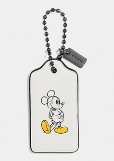 COACH MICKEY HANGTAG IN CALF LEATHER