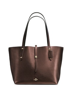 COACH Pebble Leather Market Tote