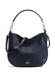 COACH Pebbled Leather Hobo Bag