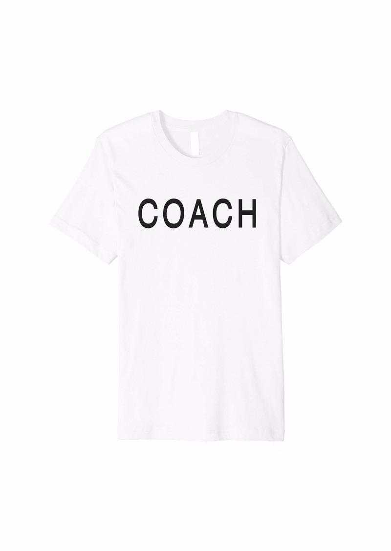 Coach Premium T-Shirt