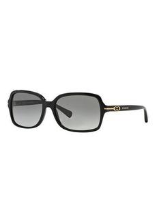 9f5df7e3b6b Coach Coach Rectangle Acetate Sunglasses