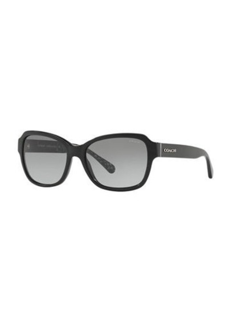 Coach Rectangle Acetate Sunglasses