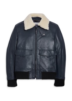 COACH Shearling Bomber Jacket