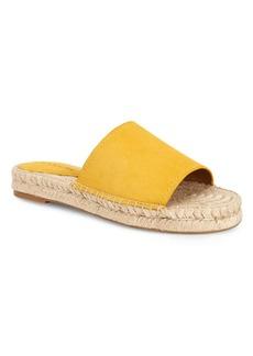 COACH Suede Slide Sandals