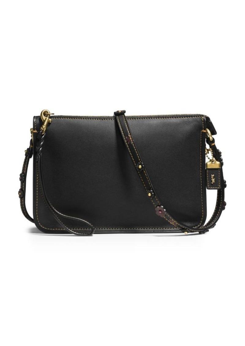 Coach COACH Top Zip Leather Crossbody bag