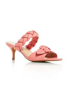 COACH Women's Mollie Kitten Heel Slide Sandals
