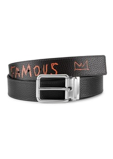 Coach x Basquiat Reversible Cut-To-Size Leather Belt