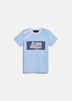 coach x champion rochester t-shirt