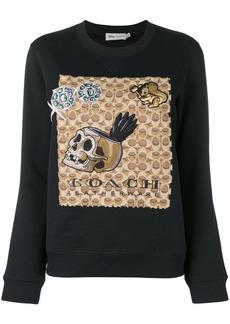 Coach x Disney signature sweatshirt