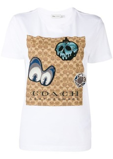 Coach x Disney signature T-shirt