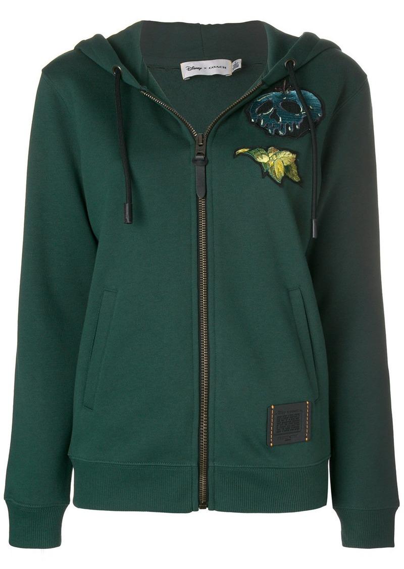 a1809339443 Coach Coach X Disney Sneezy hoodie - Green