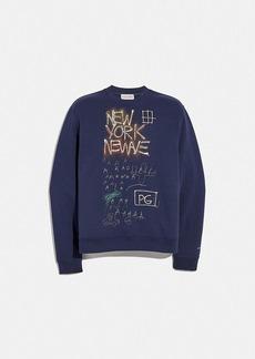 coach x jean-michel basquiat sweatshirt