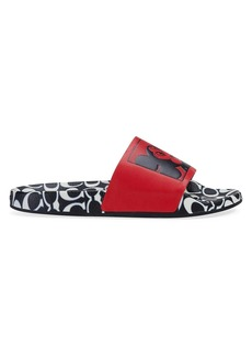 Coach x Keith Haring Mickey Rubber Slides