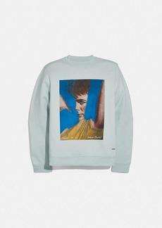 coach x richard bernstein sweatshirt with...