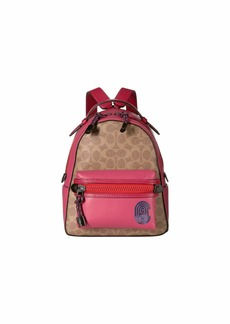 Coach Coated Canvas Signature Patch Campus Backpack 23