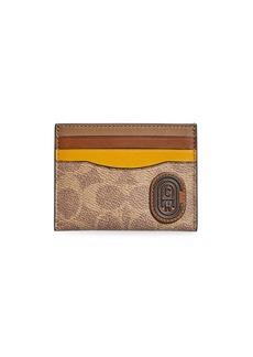 Coach Colorblock Leather Patch Card Case
