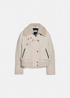 Coach corduroy utility jacket