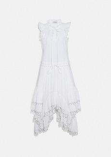 Coach cotton prairie dress