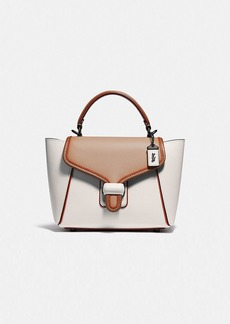 Coach courier carryall 23 in colorblock