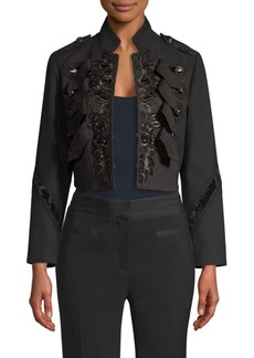Coach Cropped Military Jacket