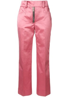 Coach cropped tailored trousers