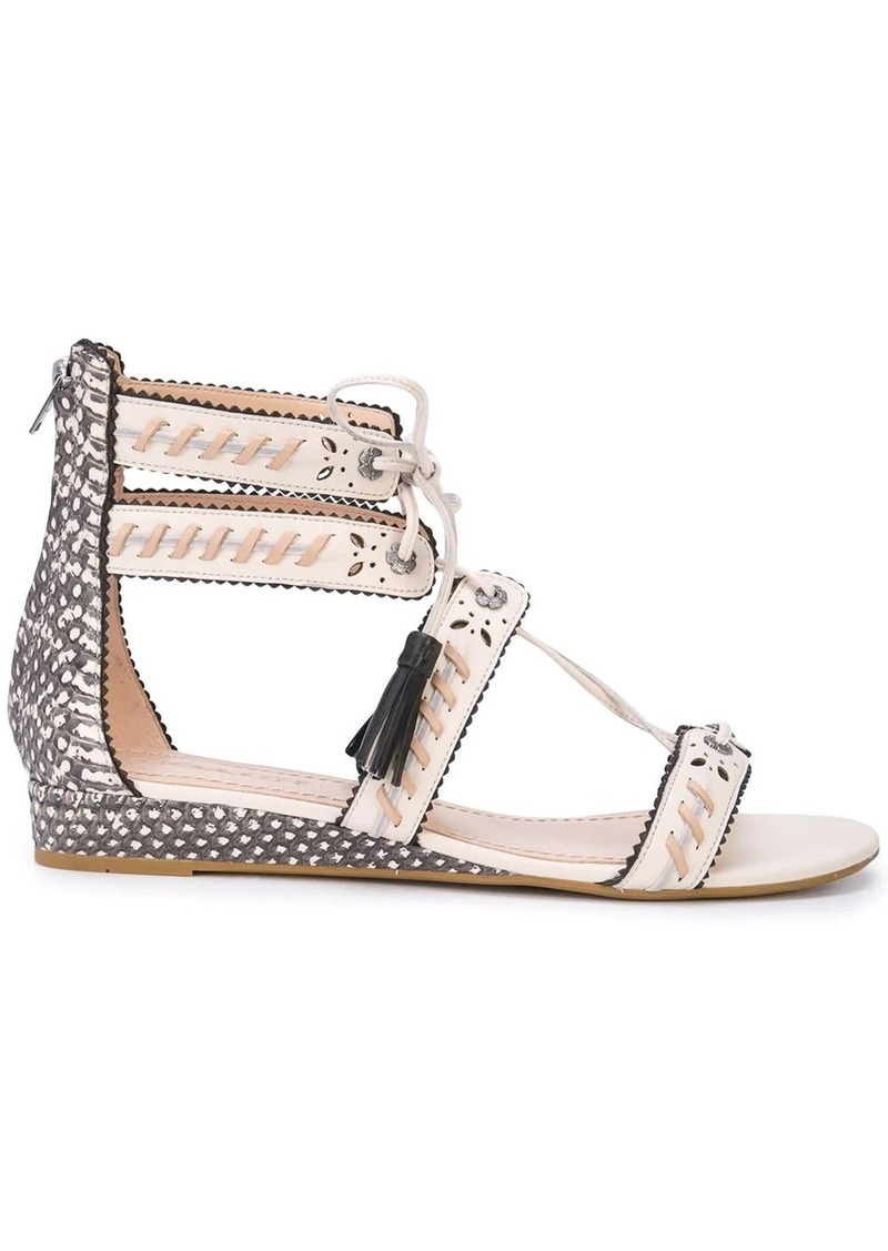 Coach demi wedge sandals