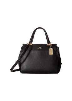 Coach Drifter Satchel in Polished Pebble Leather