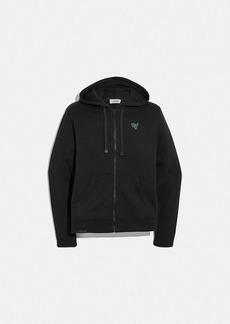 Coach essential full zip hoodie
