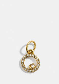 Coach collectible eternity circle pave charm