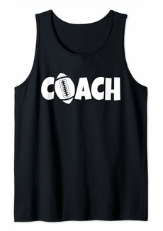 Football Coach Lead Mentor Coaching  Tank Top