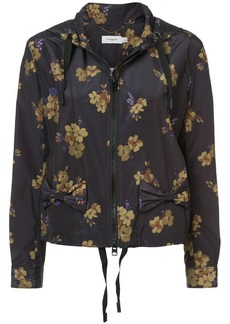 Coach forest floral print hoodie