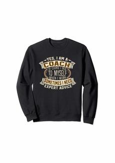Funny Coach Sweatshirt I Men Women Gift I Coach Sweater