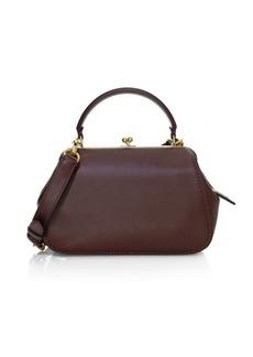 Coach Glovetan Leather Frame Bag