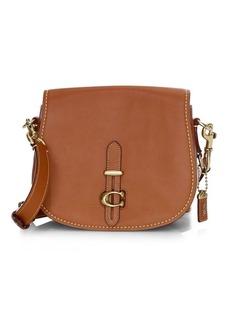 Coach Glovetanned Leather Saddle Bag