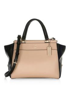 Coach Grace Colorblock Leather Bag