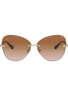 Coach gradient sunglasses