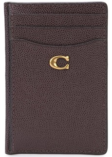 Coach grained cardholder