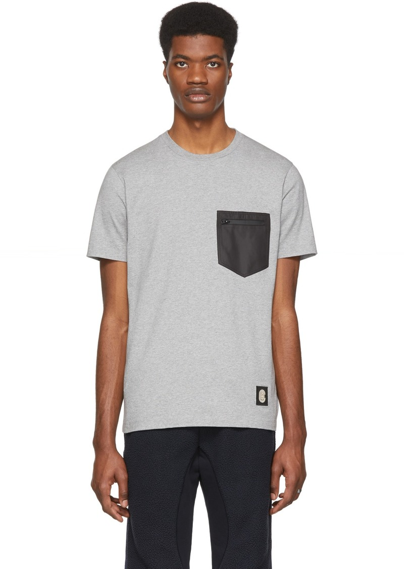 Coach Grey Patch Pocket T-Shirt