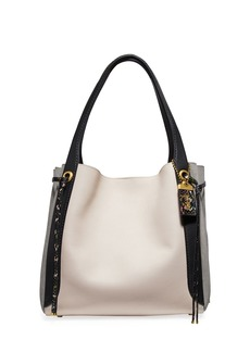 Coach Harmony Colorblock Snakeskin Hobo Bag
