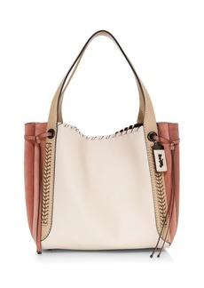 Coach Harmony Whipstitch Leather Hobo Bag