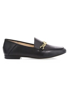 Coach Helena C-Chain Leather Loafers