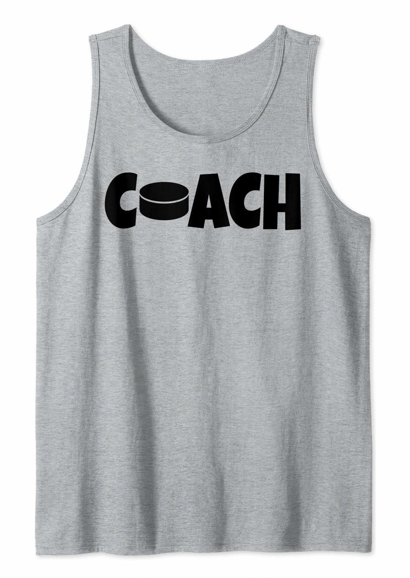 Hockey Coach Lead Mentor Coaching  Tank Top