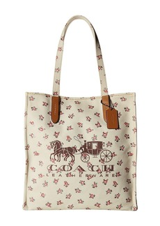 Coach Horse and Carriage Tote