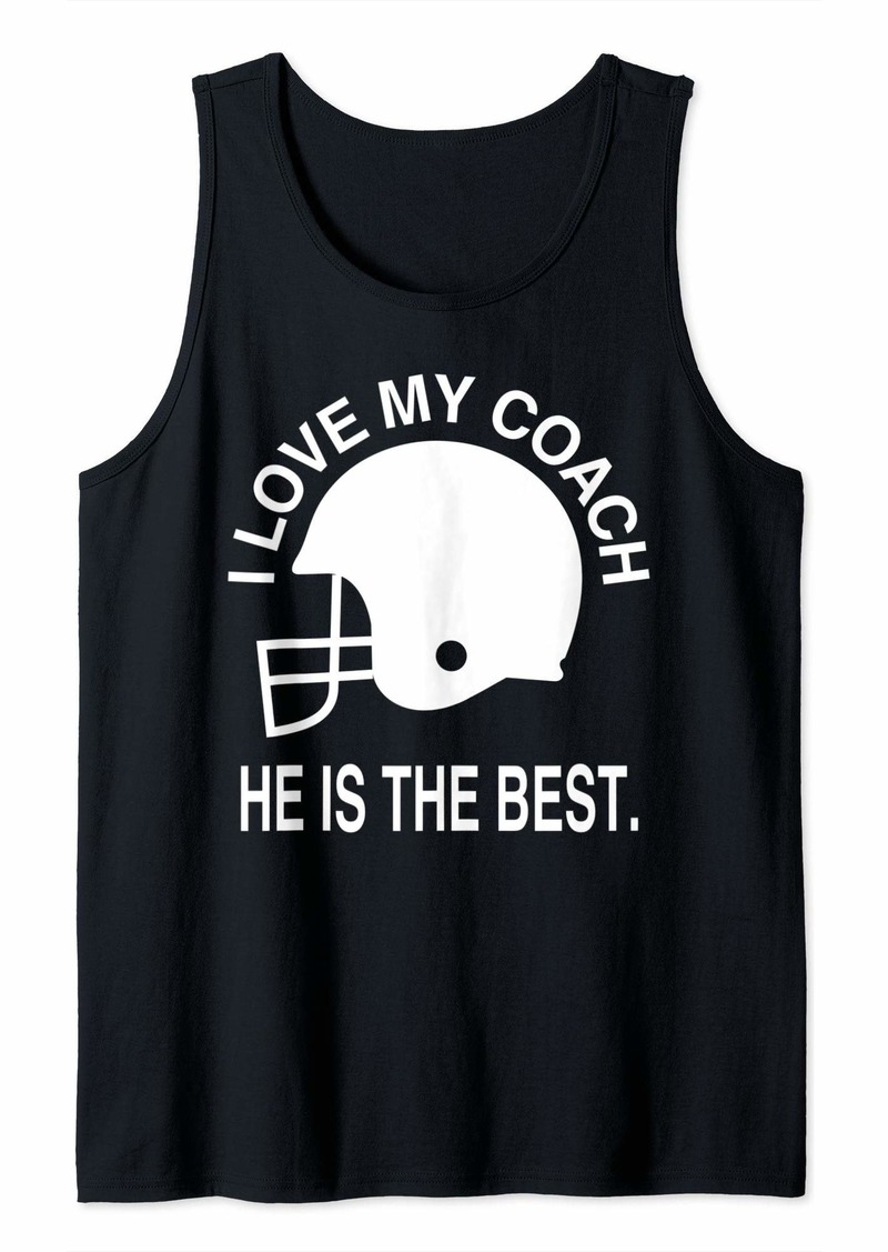 I LOVE MY COACH T-Shirt Tank Top