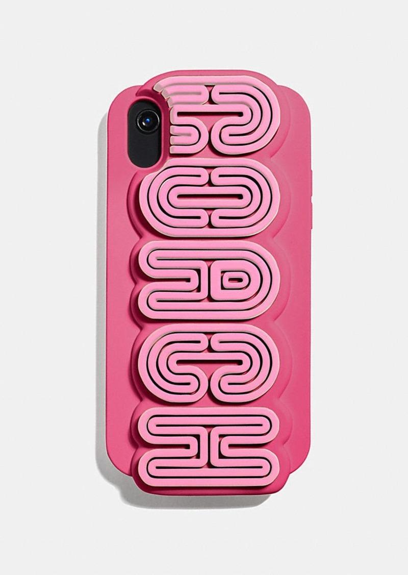 Coach iphone xr case