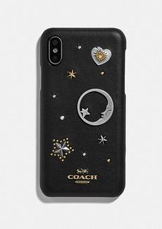 Coach iphone x/xs case with souvenir pins