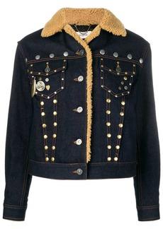 Coach studded denim jacket